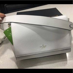 White KATE SPADE Leather Purse